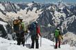 Cordée d'alpinistes