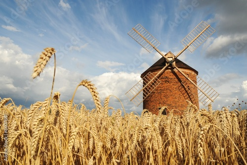Windmill in Chvalkovice (Czech Republic)