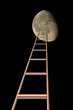 stair to moon