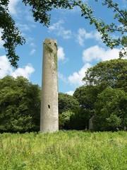 Kilree Round Tower. Kilkenny, Ireland