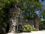 Tour et fortification, domaine de Regaleira; Sintra poster