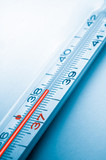clinical thermometer, high temperature poster