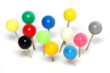 Colorful Push Pin