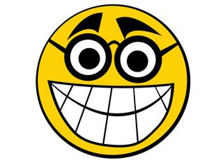 Smiley icon nerd