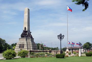 Monument in Manila