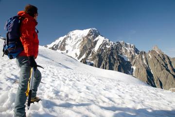Climber - Mont Blanc