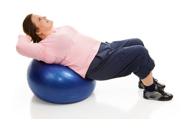 Pilates - Tightening Abdominals