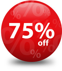 Sale - Seventy Five Percent Off