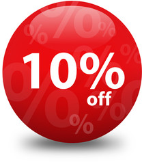 Sale - Ten Percent Off