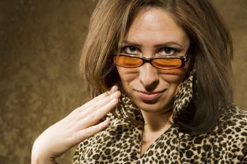 Hispanic Woman with Attitude