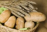 Idylle mit Weizenähren 4 poster