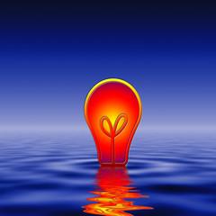 Wasserenergie Strom