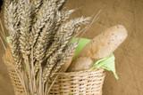 Idylle mit Weizenähren 1 poster