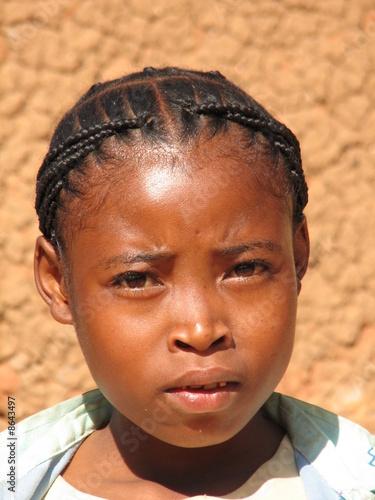 Jeune femme malgache
