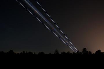 landeanflug nachts