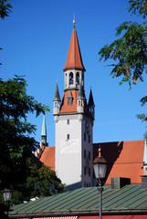 Turm altes Rathaus München