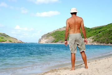 homme à la plage 2