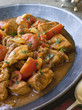 Chicken Bhoona in a Pewter dish