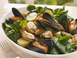 Mussel Watercress and Potato Salad