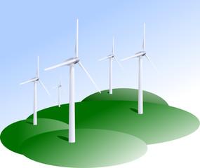Ferme éolienne