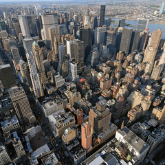 AERIAL VUE OF MANHATTAN (NEW YORK, USA)