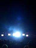 Rock concert light flare poster