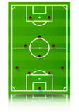 Dispositif tactique du football : 4-4-2