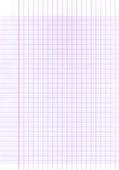 page de cahier