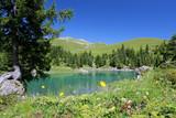 Fototapety lac dans les alpes suisses