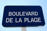 Boulevard de la Plage poster