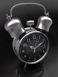 Alarm Clock. The big bell ensures wake up. poster