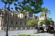 calèches devant la cathédrale de séville