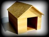 dog house shelter poster