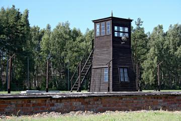 Crematorium in German camp-Stutthof.