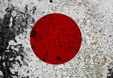 Grunge Flag Of Japan poster