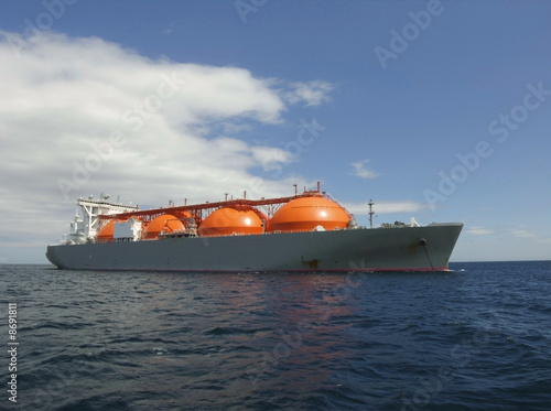 Natural Gas Ship - 8691811