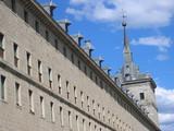 vista lateral monasterio del escorial poster