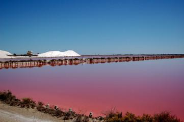 montagne de sel d'Aigues Mortes