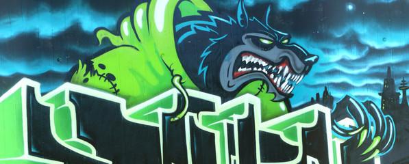 Graffiti Wolf