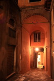 Alleyway in the evening;Perugia;Italy
