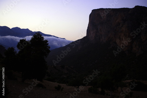 Mountain landscape;Atlas mountains;Morocco