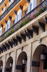 Closeup of building;San Sebastian;Spain