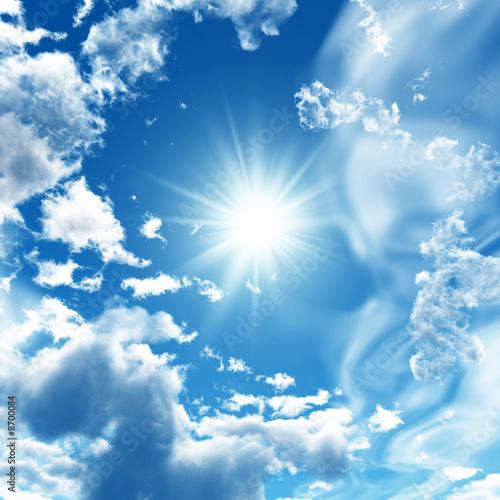 Leinwanddruck Bild Sky