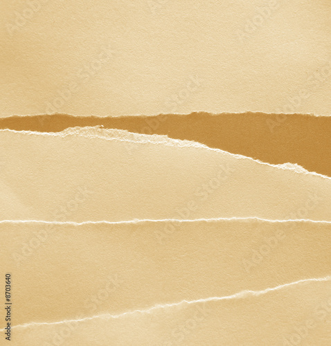Textured brown papers