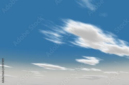 Deurstickers Aan het plafond Cielo textura