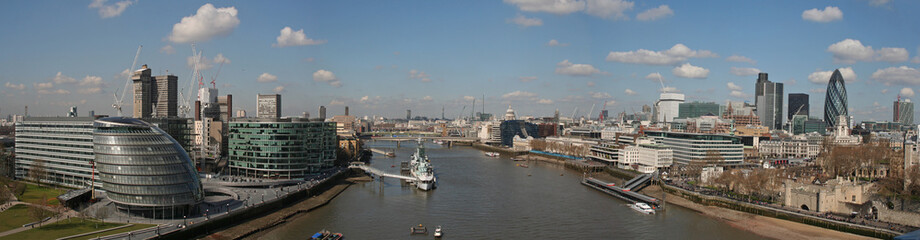Panorama sur Londres