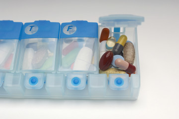 Container of medication