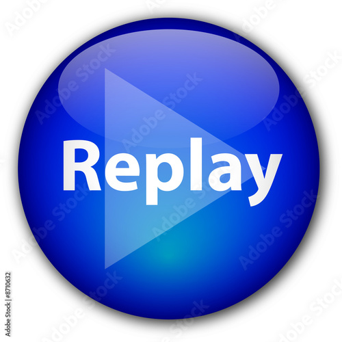 Replay Button Vector