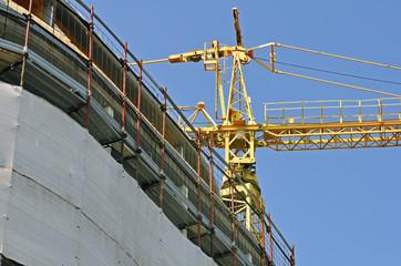 Edificio in costruzione - versione orizzontale