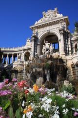 patrimoine architectural - palais longchamp marseille
